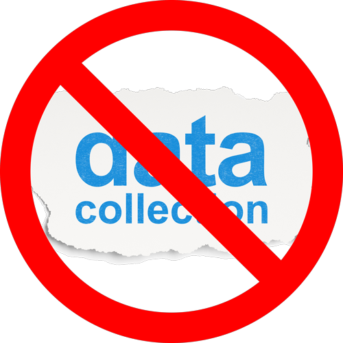 Data Collection Prohibited